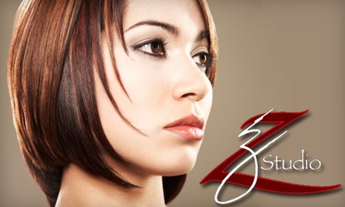 Z Studio - Brookside: $99 for a Haircut, Color & Highlight, Conditioning Treatment and Facial Waxing at Z Studio ($205 Value)