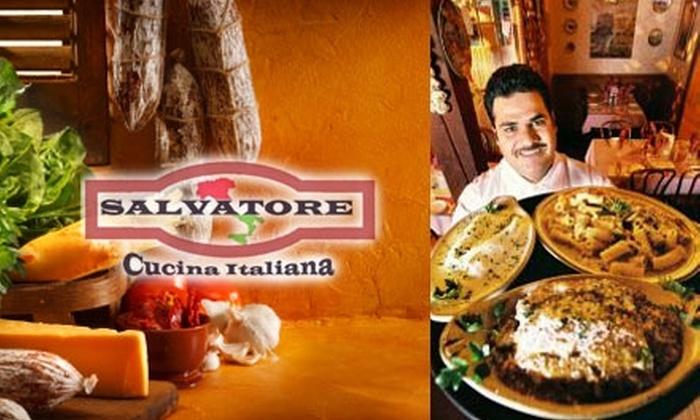 Salvatore Cucina Italiana - Mission Viejo: $10 for $25 Worth of Italian Cuisine and Drinks at Salvatore Cucina Italiana