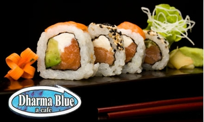 Dharma Blue - Seville Historic District: $15 for $30 Worth of Steak, Seafood, and More at Dharma Blue