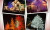 Five Star Holiday Décor: Glimmer, Shine, or Radiance Holiday Lighting Package from Five Star Holiday Décor (Up to 51% Off)