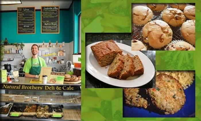 The Natural Brothers' Deli & Cafe - Lutherville - Timonium: $10 for $25 Worth of Vegetarian Fare & Drinks at The Natural Brothers' Deli & Cafe