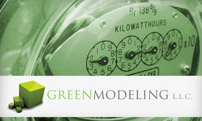 Greenmodeling - Charlotte: $100 for a Home Energy-Use Audit from Greenmodeling (Up to $325 Value)