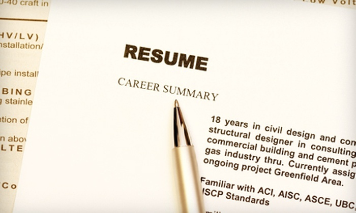 JMC Resumes, Ltd.: $85 for Professional Resumé and Cover-Letter Service from JMC Resumes, Ltd. ($260 Value)