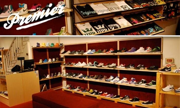 Premier Boutique - University South: $25 for $50 Toward Fashionable Footwear and More at Premier Boutique