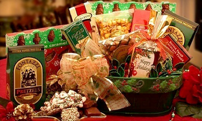 Gift Basket Co. : $20 for $50 Worth of Gift Baskets Delivered from Gift Basket Co.