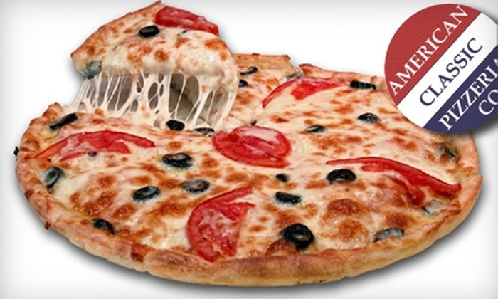 American Classic Pizzeria Co. - West End: $10 for $20 Worth of Pizza, Wings, and More at American Classic Pizzeria Co.