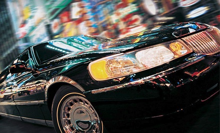 1-Way Town-Car Service to or from Newark Liberty International Airport - MBM Limousine Service in