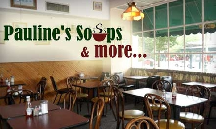 Pauline's Soups & More - Reading: $4 for $8 Worth of Lunch and Breakfast Fare at Pauline's Soups & More