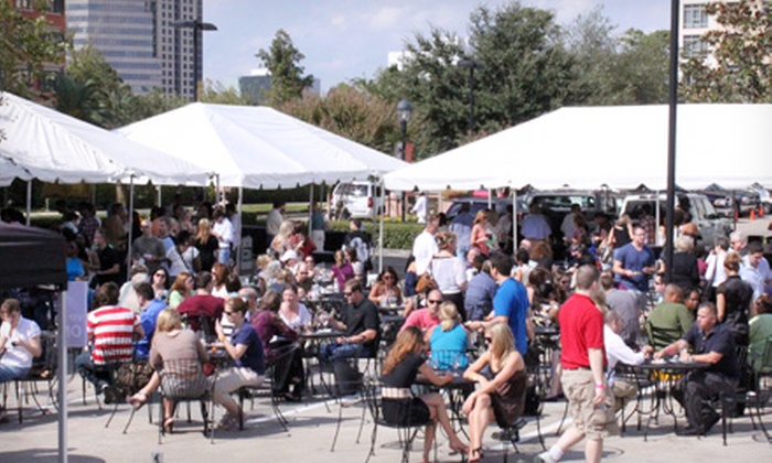Houston Cellar Classic - Great Uptown: Admission for Two or Four to the Grand Tasting on October 5 from the Houston Cellar Classic (Up to 50% Off)