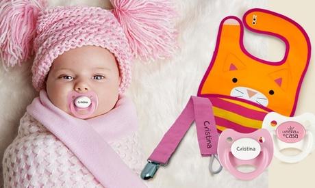 Pack de accesorios para bebés a elegir en Chupetemanía (hasta 54% de descuento)