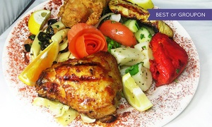 Dimassi's Mediterranean Buffet: Mediterranean Buffet for Two or Four at Dimassi's Mediterranean Buffet (48% Off)
