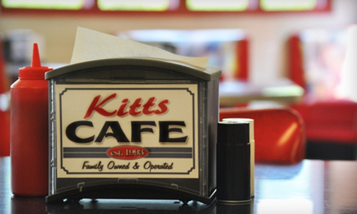 Kitts Café - Beverly: $10 for $20 Worth of Homestyle Café Fare at Kitts Café