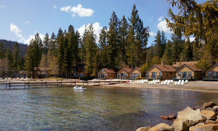 null - Reno: Stay for Two or Four at Franciscan Lakeside Lodge on Lake Tahoe, CA