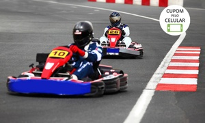 Pró-Kart: Pró-Kart - Farroupilha: 25 minutos de corrida de kart para 1, 5, 10 ou 15 pessoas