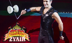 Circus Zyair: Circus Zyair: Ticket for Two or Four with Popcorn at Campbell Park, 26 - 28 February, 4 - 6 March (Up to 65% Off)