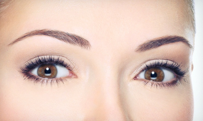 Eyebrow threading sessions aaina salon groupon for Aaina beauty salon parlin