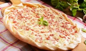 Au wacken: Tartes flambées salées  à volonté pour 2, 4 ou 6 personnes dès 19,99 € au restaurant Au Wacken