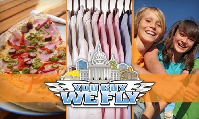 You Buy We Fly - Oklahoma City: $15 for Two Deliveries from You Buy We Fly (Up to $38 Value)
