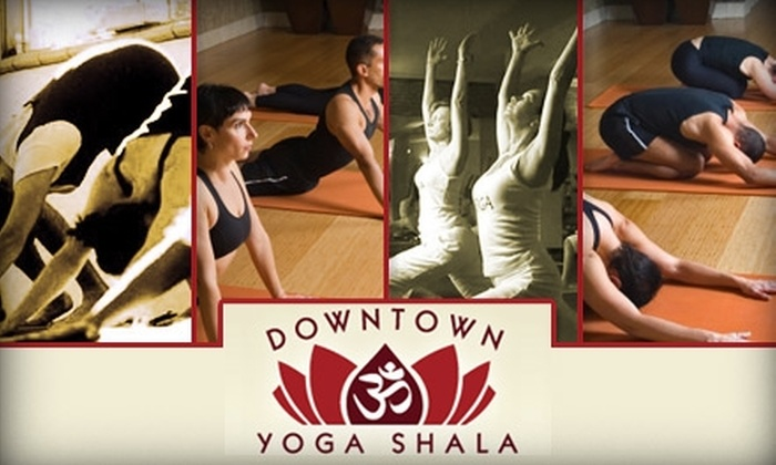 Downtown Yoga Shala - Downtown San Jose: $25 for One Month of Unlimited Yoga Classes at Downtown Yoga Shala (Up to $150 Value)