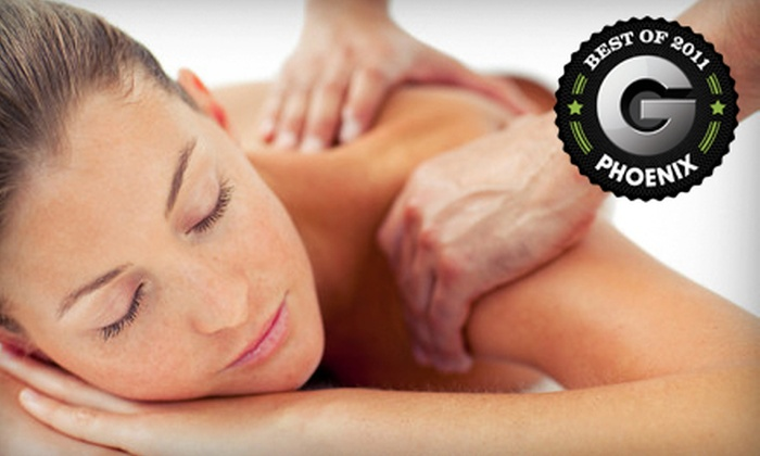 Plush Salon and Spa - Mesa: 60- or 90-Minute Hot-Stone or Swedish Massage at Plush Salon and Spa in Mesa (Up to 59% Off)