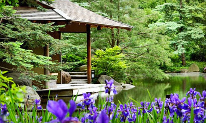 up to 52 off japanese garden outing in rockford anderson japanese gardens groupon. Black Bedroom Furniture Sets. Home Design Ideas