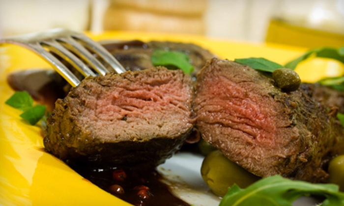 Shevy's Sports and Steaks - Elkhorn: $12 for $24 Worth of Steaks, Burgers, and Sandwiches at Shevy's Sports and Steaks in Elkhorn