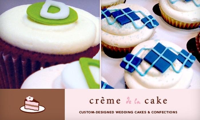 Crème de la Cake - Hoover: $18 for a Dozen Cupcakes from Crème de la Cake ($36 Value)