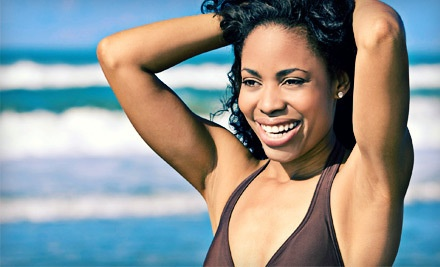 6 Laser Hair-Removal Treatments on a Small Area  - Crystal Lake Spa in Harrison