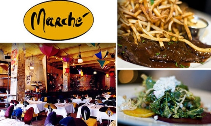 Marche - West Loop: $25 for $50 Worth of French Fare at Marché