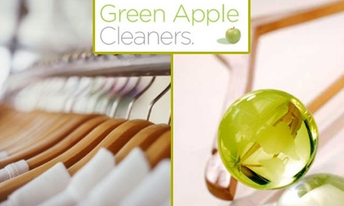 Green Apple Cleaners - Park Slope: $15 for $35 Worth of Eco-Friendly Dry Cleaning at Green Apple Cleaners