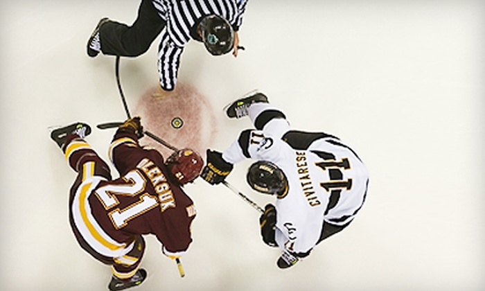 Two Tickets to a Colorado College Hockey Game at World Arena. Six Options Available.