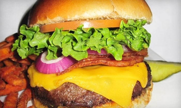 Burger Burger - Financial District: $7 for $15 Worth of American Fare and Drinks at Burger Burger