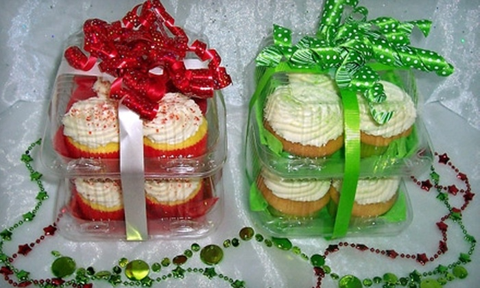 Marsha's Specialty Desserts & Tierney's Catering - Avon: Cupcakes at Marsha's Specialty Desserts & Tierney's Catering in Avon. Two Options Available.