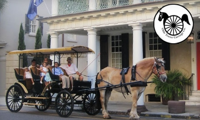 Olde Towne Carriage Company - Downtown: $19 for Two Tickets to a One-Hour City Tour from Olde Towne Carriage Company (Up to $40 Value)