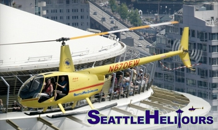 SeattleHeliTours.com - Georgetown: $135 for a 20-Minute Helicopter Tour for Up to Three Passengers from SeattleHeliTours.com (Up to $272.50 Value)