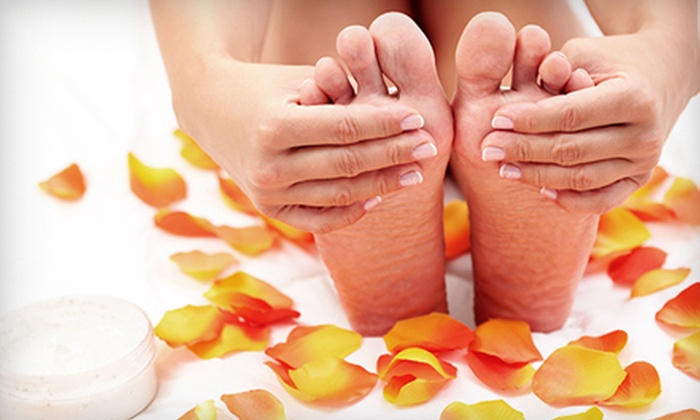 Iris Nail Salon - Trooper: Gel Mani, Mani and Hot-Stone Pedi, or Mani and Spa Pedi at Iris Nail Salon in Eagleville (Up to 56% Off)