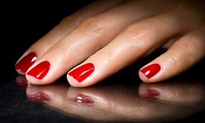 Mirage Hair Studio - Torrington: $10 for a Spa Manicure ($20 Value) or $17 for Cut, Wash, and Blow-Dry ($35 Value) at Mirage Hair Studio in Torrington