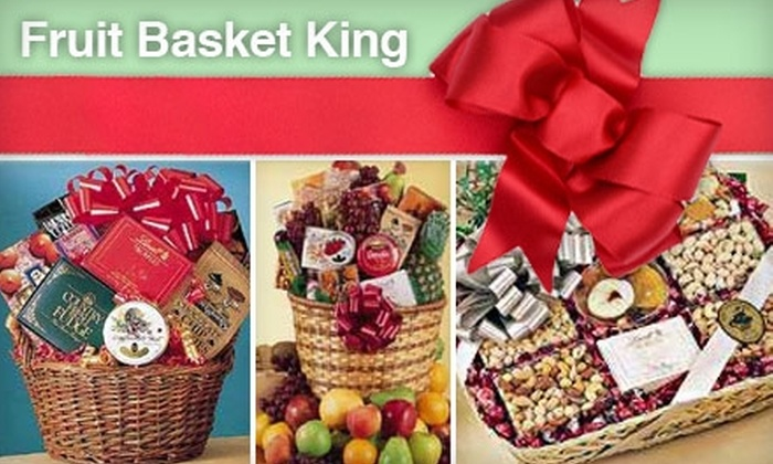Fruit Basket King: $20 for $50 Worth of Gift Baskets and More at Fruit Basket King