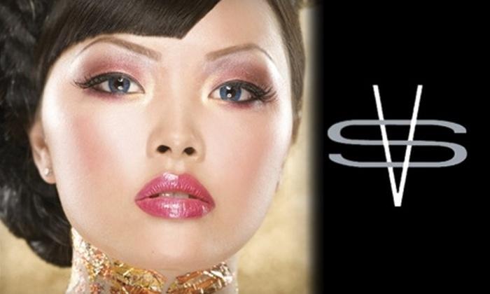 Salon Verve - Maple: $35 for Hair Consultation, Cut, Style, and Scalp Treatment at Salon Verve in Maple