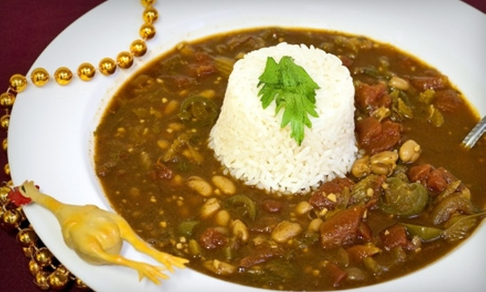 J. Gumbo's - Fairfield: $6 for $12 worth of Cajun Fare and Drinks at J. Gumbo's in Fairfield