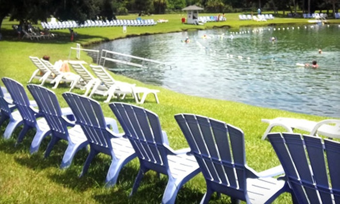 Warm Mineral Springs - Warm Mineral Springs: $36 for a Day Pass for Two and Lunch at Warm Mineral Springs (Up to $63.40 Value)