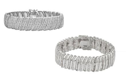 2.00 CTTW Diamond Bracelets