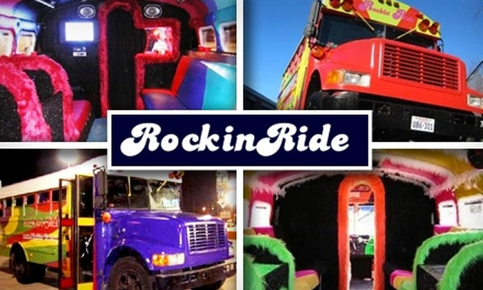 Rockin' Ride - Austin: $140 for Two Hours in a Fully Equipped '70s Party Bus from Rockin' Ride ($280 Value)