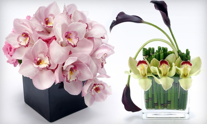 City Blossoms - Multiple Locations: Flowers and Bouquets at City Blossom (Half Off). Two Options Available.