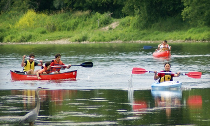Heritage River Canoe & Kayak Company - Paris: $38 for a Three-Hour Guided Eco Tour by Canoe or Kayak from Heritage River Canoe & Kayak Company in Paris ($79.95 Value)