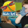 KidzArt - North Sacramento: $20 for a Month of Classes ($54 Value) or $89 for a Birthday Party (Up to $225 Value) at KidzArt