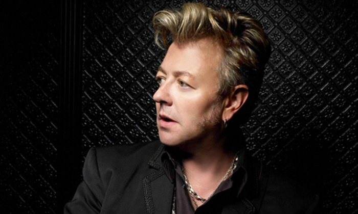 """""""The Brian Setzer Orchestra Christmas Rocks! Extravaganza"""" - Universal City: One Ticket to Brian Setzer Orchestra Christmas Rocks! Extravaganza at Gibson Amphitheatre at Universal CityWalk (Up to $69.65 Value)"""