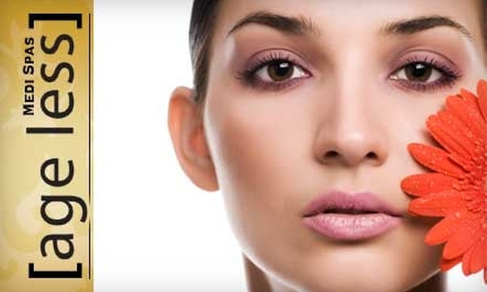 Age Less Medi Spas - Multiple Locations: $45 for a Diamond Microdermabrasion or Ultrasonic Peel at Age Less Medi Spas ($99 Value)