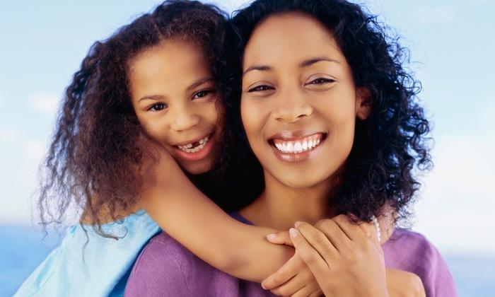New Century Smile Dental Arts - Multiple Locations: Dental Exam Package or Zoom! Teeth-Whitening Treatment at New Century Smile Dental Arts (Up to 86% Off)
