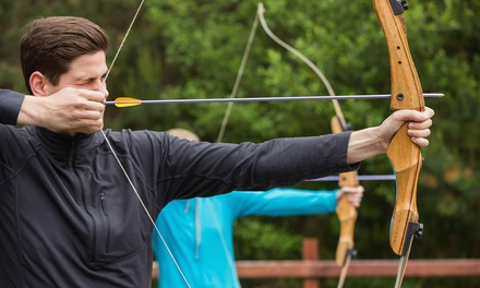 $29 for a One-Hour Practice Session with Bow-and-Arrow Rental for Two at Barefoot Archery ($50 Value)